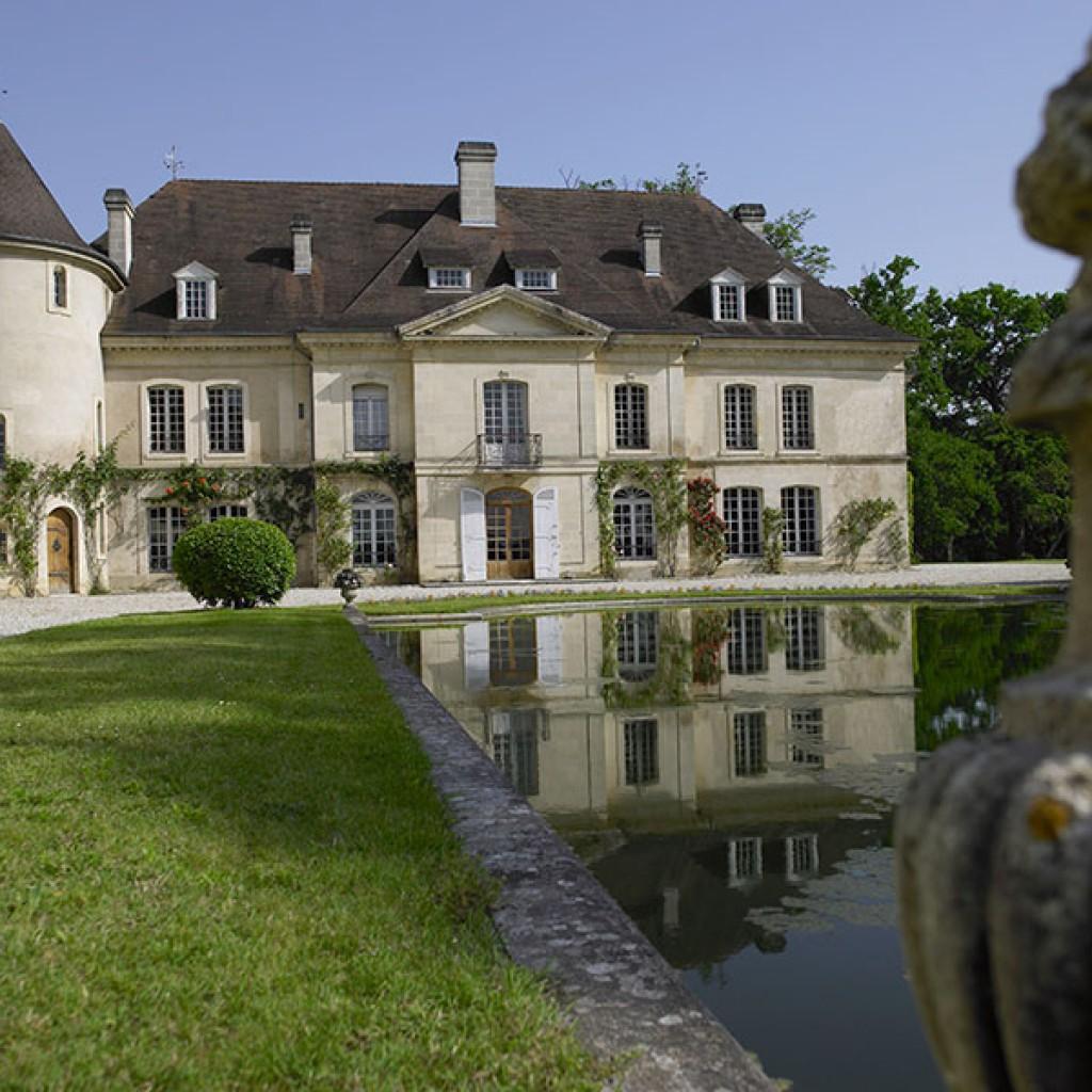 chateau, bordeaux, viticoles