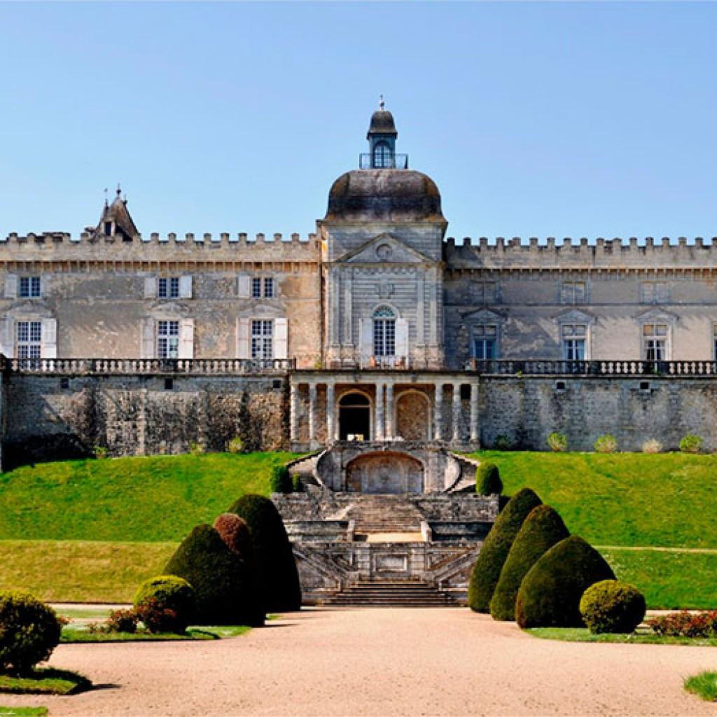 chateau, bordeaux, monuments, sites, historiques