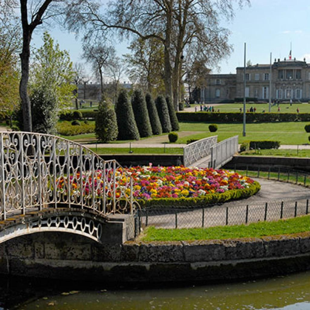jardin, botanique, parc, bordeaux